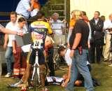 Dieter Vanthourenhout lay motionless for minutes after his terrible crash. by Dan Seaton