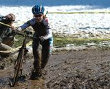 Ankle deep mud at the base at HPCX 2011 © Chris LaBudde