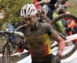 Belgian Champion Sven Nys on his way to a third place finish © Cyclocross Magazine