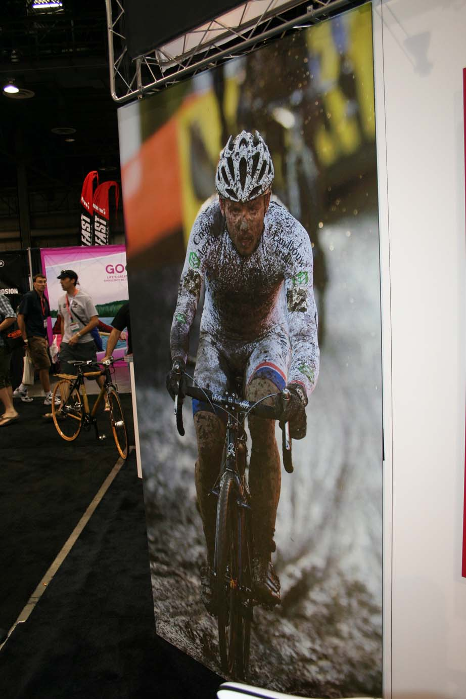 Perhaps one day he\'ll visit Interbike and CrossVegas, but for no