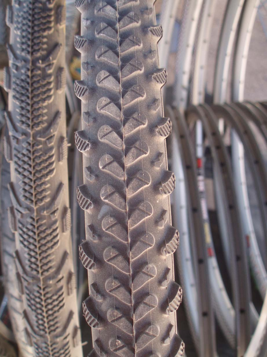 For more technical terrain, Duro has the MoeJoe CX, with a more aggressive tread pattern. by Jake Sisson