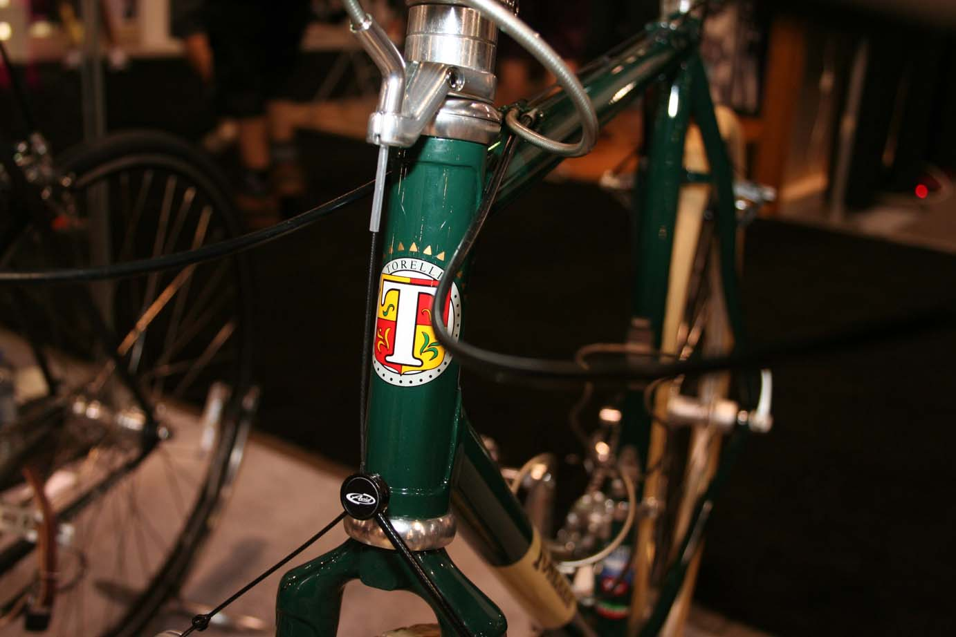 The frame sells for $1300 and comes either lugged or TIG-welded. Torelli forks are not yet available for the 1\