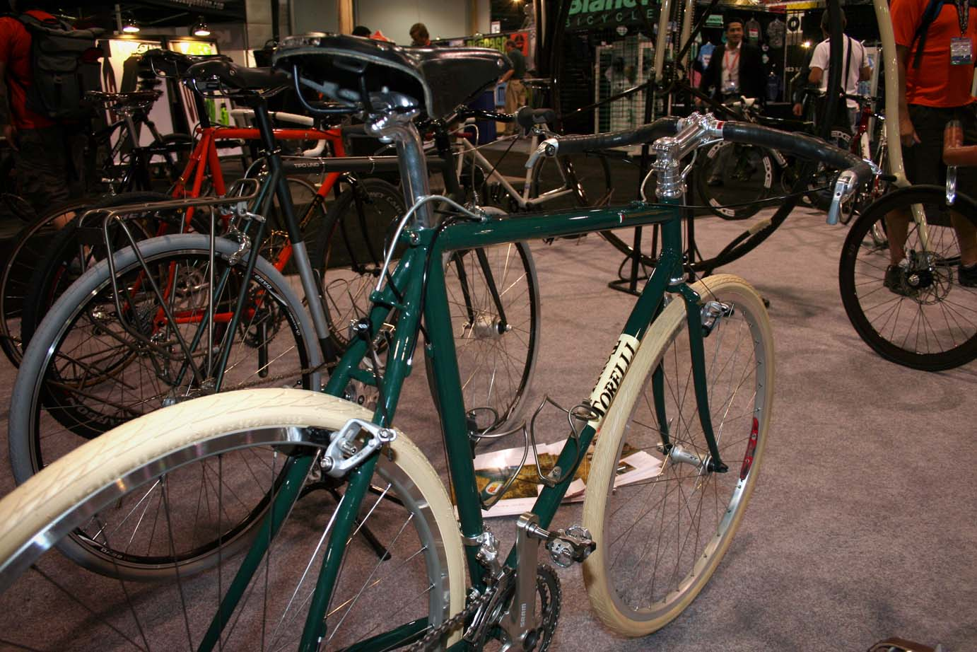 Torelli showed off two new cyclocross frames, built from Columbus Zona