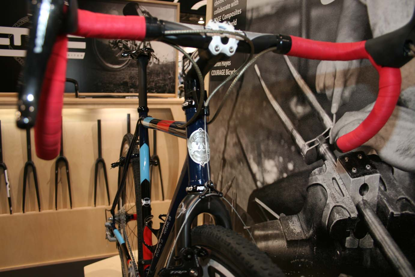The growing composites company offers a wide selection of parts for  cyclocross racers, and Planet Bike pro Jonathan Page rides the bar, stem and wheels. ?Cyclocross Magazine