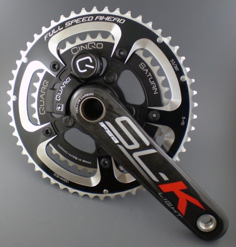 Quarq's Saturn power meter to have more user interface access. Photo courtesy Quarq