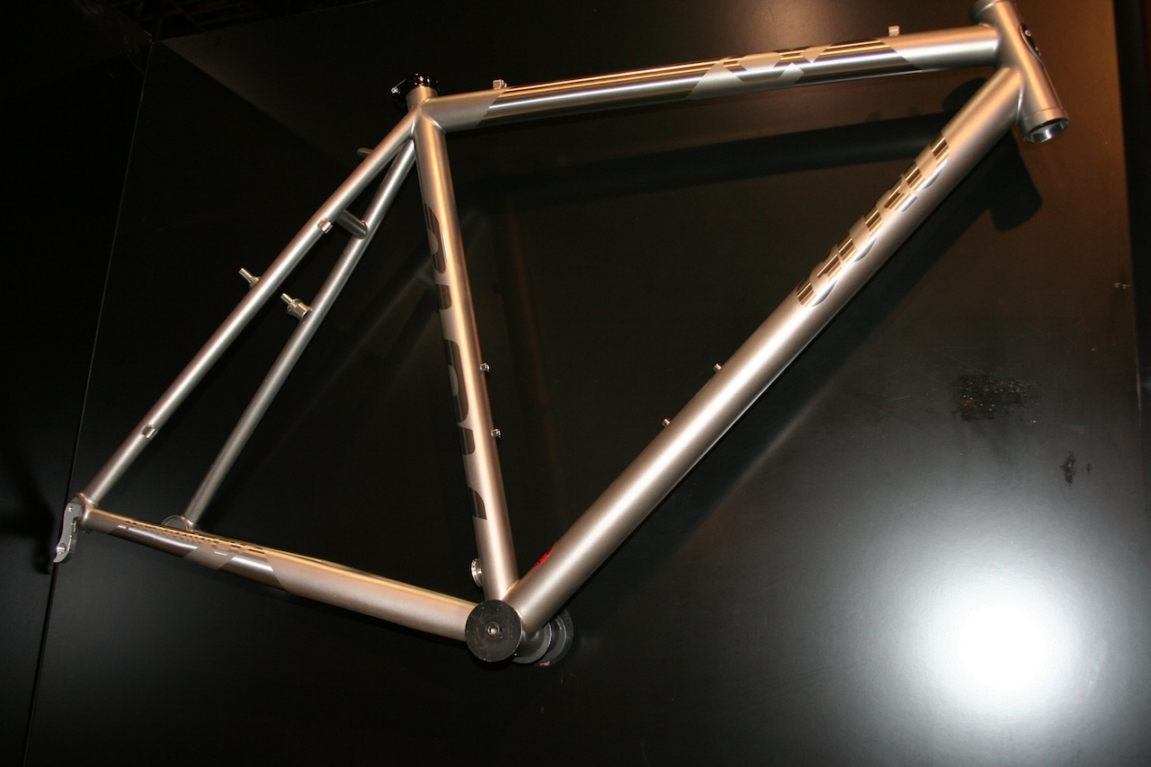 The Praemio titanium frame is the other current custom cyclocross option © Josh Liberles