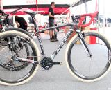 Caroline Mani's carbon Felt 1x cyclocross bike, full equipped with SRAM and Zipp componentry. © Cyclocross Magazine