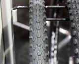 Vredestein's new Black Panther cyclocross tires. Cyclocross Tires at Interbike 2011. © Cyclocross Magazine