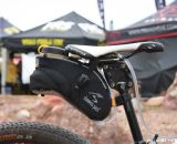 More than two bottles' worth of liquid plus an ample storage compartment. ©Cyclocross Magazine