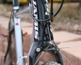 The Supernova features a tapered head tube and good fork clearance. © Cyclocross Magazine