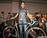 Katheryn Curi Mattis poses with her brand new Ritte Steeplechase.