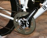 The 3T Meta crank has built in ANT+ cadence. ©Cyclocross Magazine