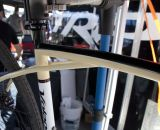 "According to Volagi, the Viaje's ""Long Bow Flex Stays"" create a softer ride. © Cyclocross Magazine"