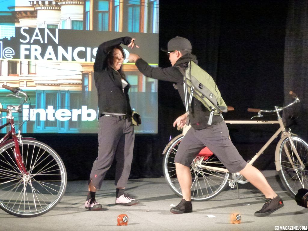 The breakdancers in San Francisco. © Cyclocross Magazine