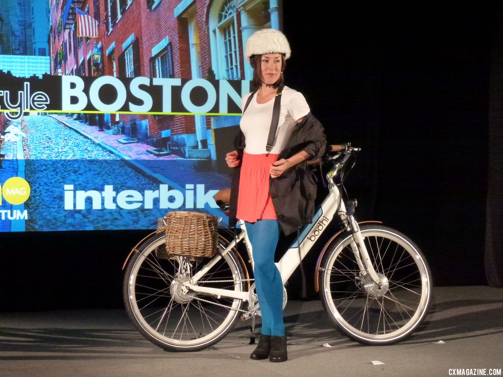 Awesome fur covered helmet for Boston. © Cyclocross Magazine