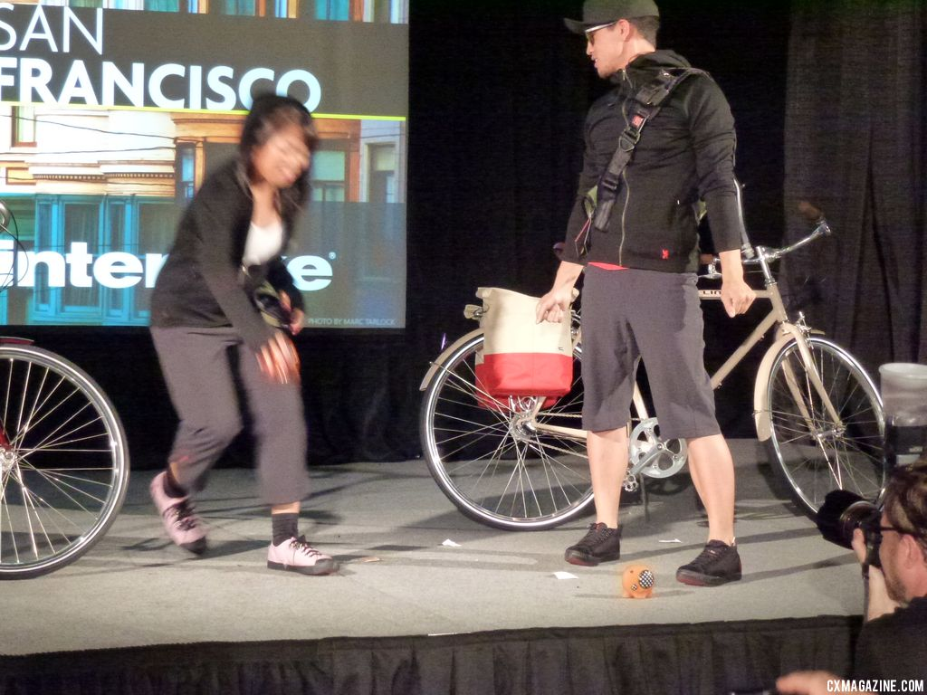 We do love these breakdancers from San Francisco. © Cyclocross Magazine