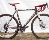Jake Wells' Ridley X-Fire Disc cyclocross bike. © Cyclocross Magazine