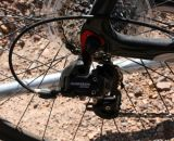 SRAM Apex on the lower end model. © Cyclocross Magazine