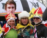 Some serious fans at the Elite World Championships of Cyclocross. © Janet Hill