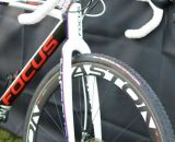 Easton EC90 rims mated to M1 hubs. ©Cyclocross Magazine