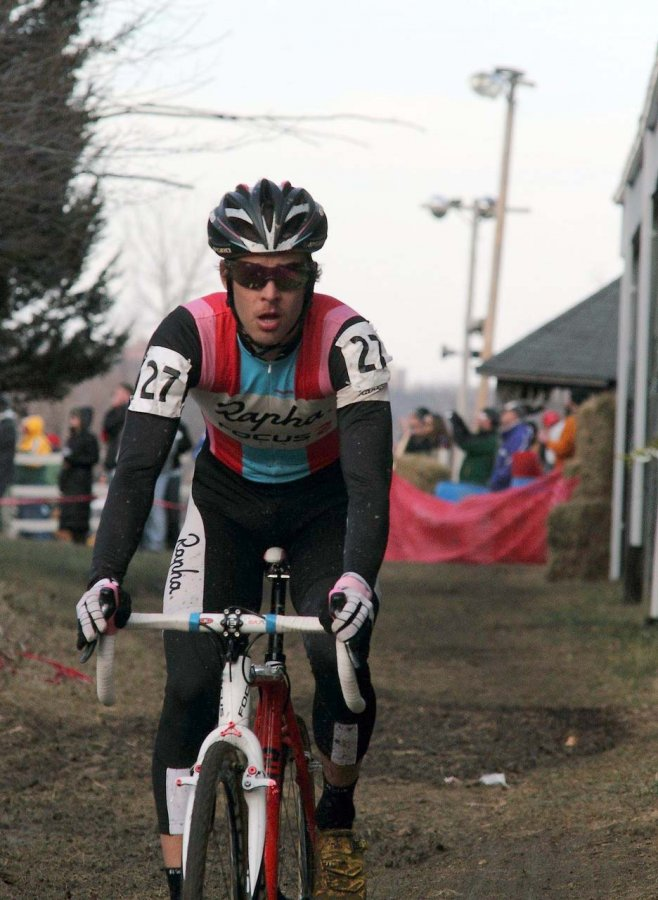 Chris Jones takes another third place. Jingle Cross 2010 Day 3. © Michael McColgan