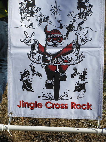 Jingle Cross Rock poster ? Brian Morrissey