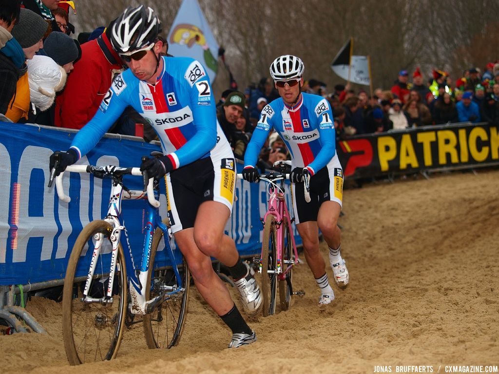 Zdenek Stybar and compatriot Radomir Simunek were unable to repeat their 1,2 performance.	 © Jonas Bruffaerts
