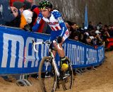 James Driscoll finished three laps down. © Jonas Bruffaerts2012 Cyclocross Worlds Elite Men © Jonas Bruffaerts