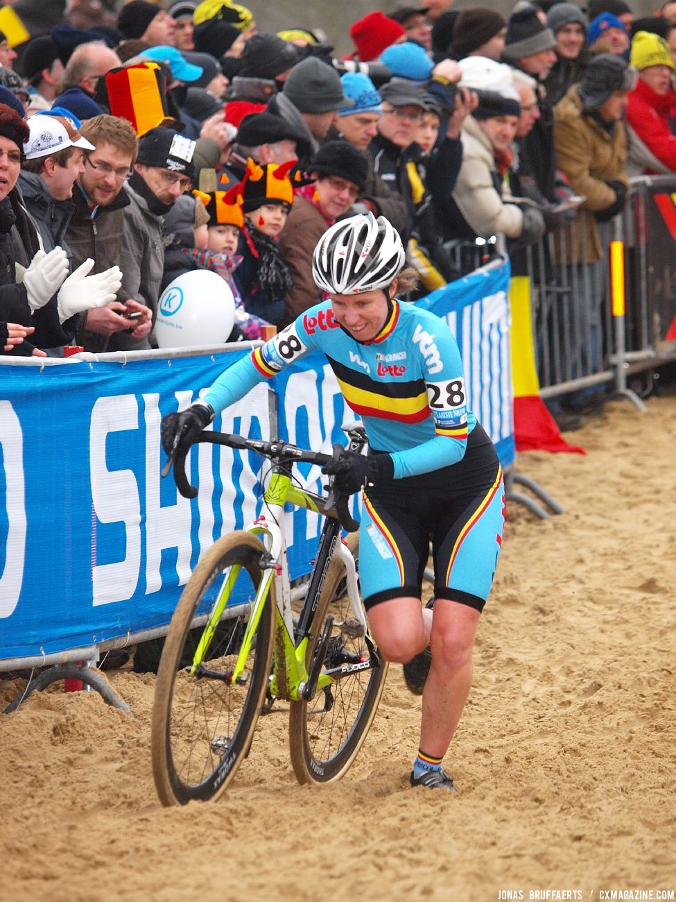 2012 Cyclocross Worlds Elite Women © Jonas Bruffaerts