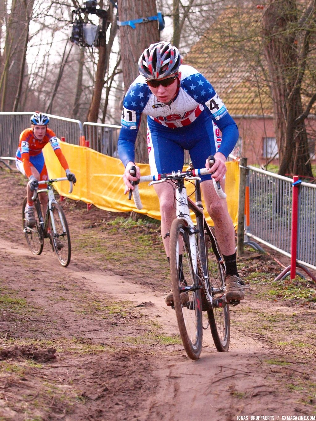 Junior men\'s race, World Championships 2012 © Jonas Bruffaerts