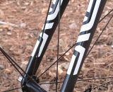 The Enve Carbon Cross fork is light, race-proven and relatively stiff.