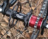 Rolf Prima TDF3.4 rear hub with singlespeed spacer conversion.