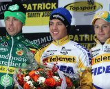 The podium: Nys (l) - Meeusen - Pauwels. © Bart Hazen