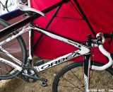 Katerina Nash's CrossVegas, StarCrossed and Rapha GP-winning Orbea Terra cyclocross bike. © Motofish Images
