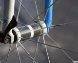 Detail of carbon hub on the Bontrager Aeolus wheelset and hubs.© Cyclocross Magazine