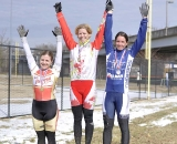 Elite Women's podium © Bart Nave