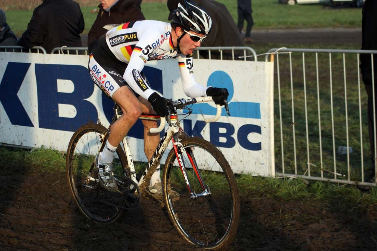 Phillip Walsleben was the top German rider in Koksijde. © Bart Hazen
