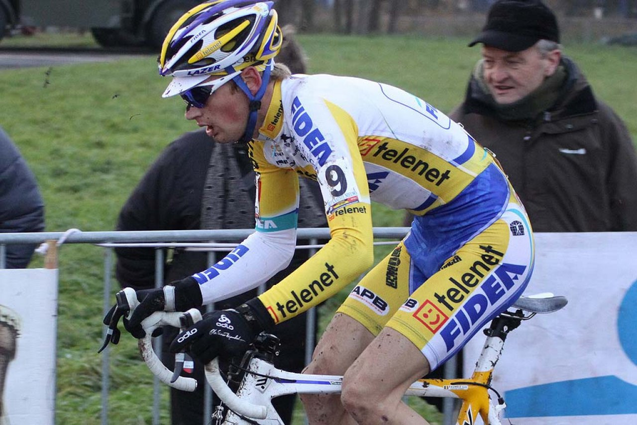 Pauwels was just off the chase in Koksijde. © Bart Hazen