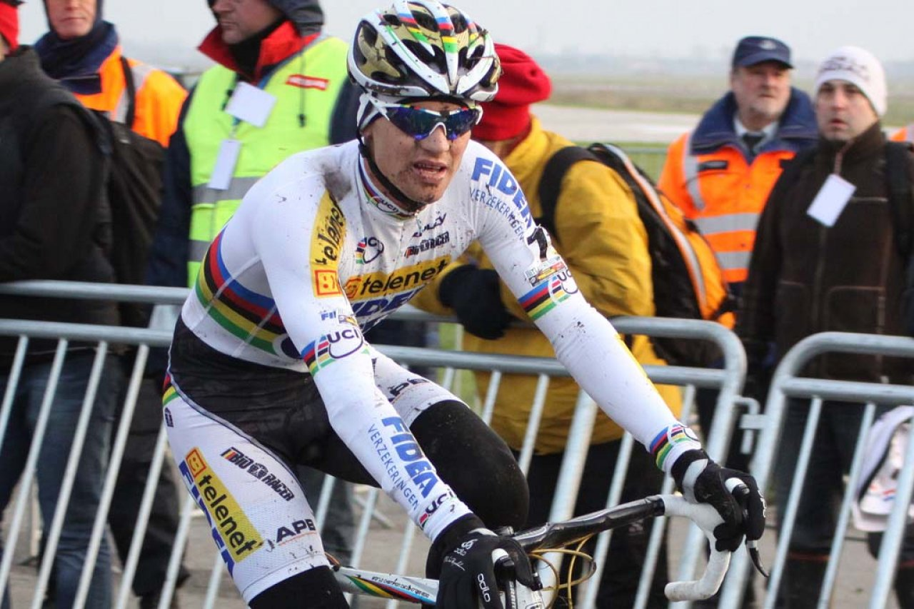 Stybar\'s form seems to be ready for the jersey defense. © Bart Hazen