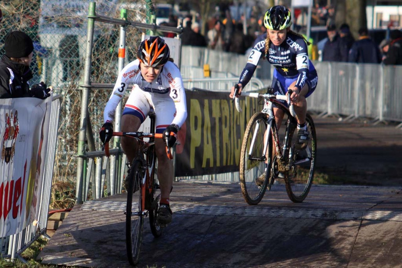 van Paassen and van den Brand battled throughout the day for the World Cup leader\'s jersey. © Bart Hazen