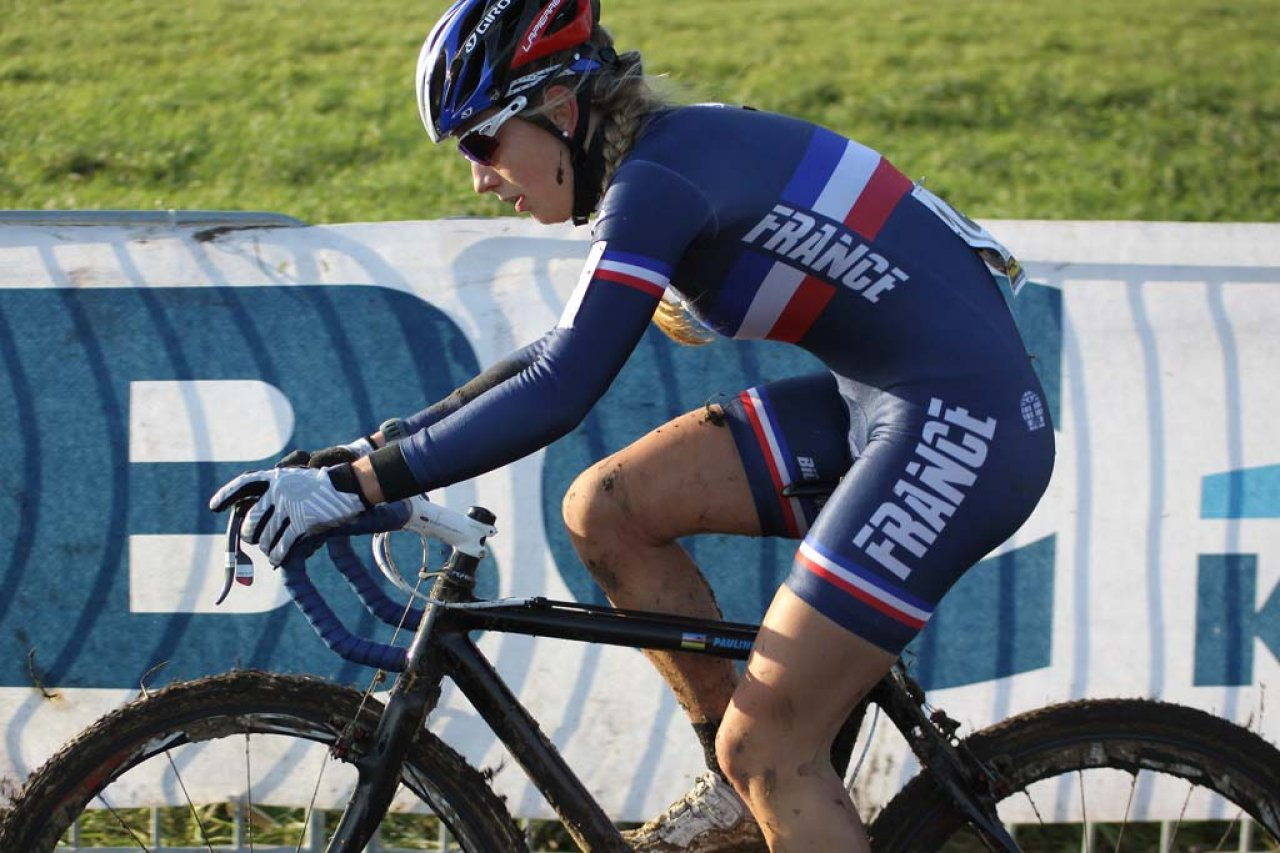 Ferrand Prevot powers through Koksijde. © Bart Hazen