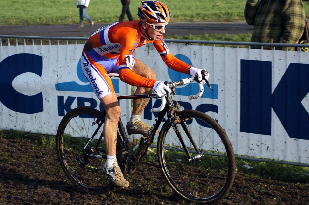 van der Haar finished fourth in Koksijde. © Bart Hazen