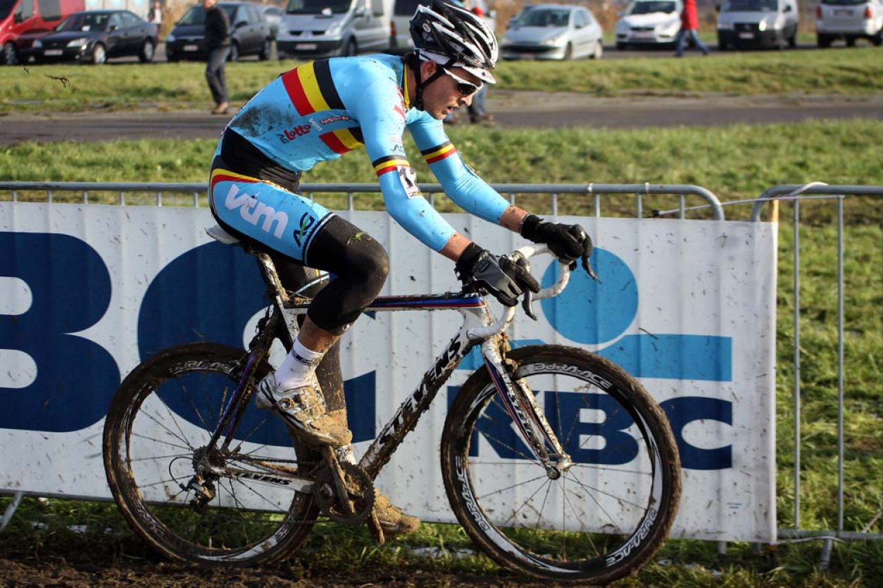 Bosmans completed the U23 top five in Koksijde. © Bart Hazen