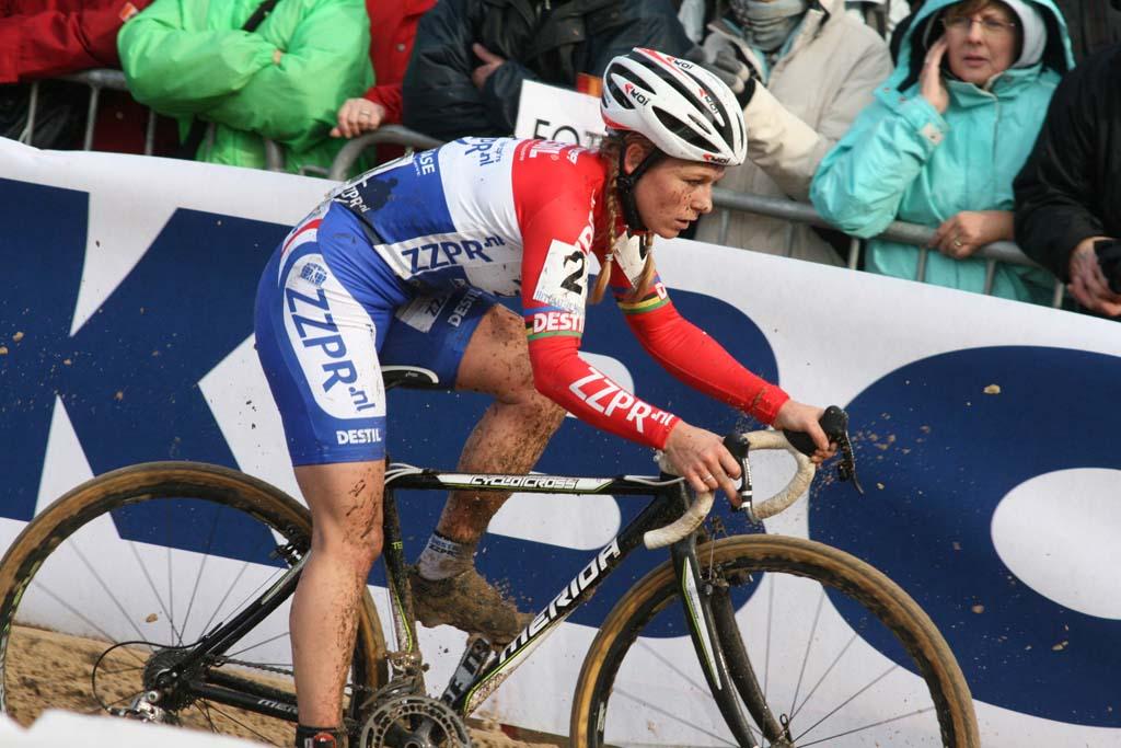Daphny Van Den Brand. Koksijde Elite Women World Cup 11/28/2009 ?Bart Hazen