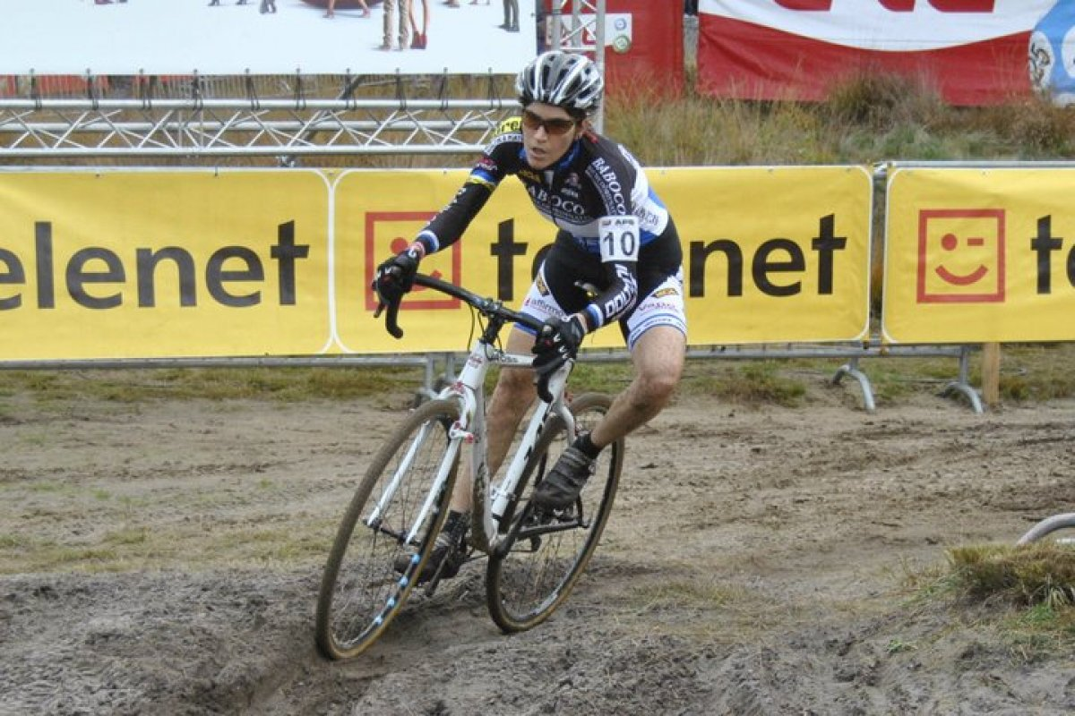Sandy rutted corners in Zonhoven © Baboco Cycling Team