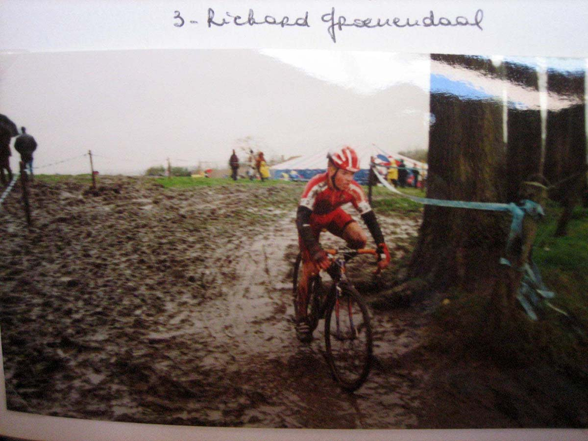 Richard Groenendaal coming in for 3rd place. photo: courtesy