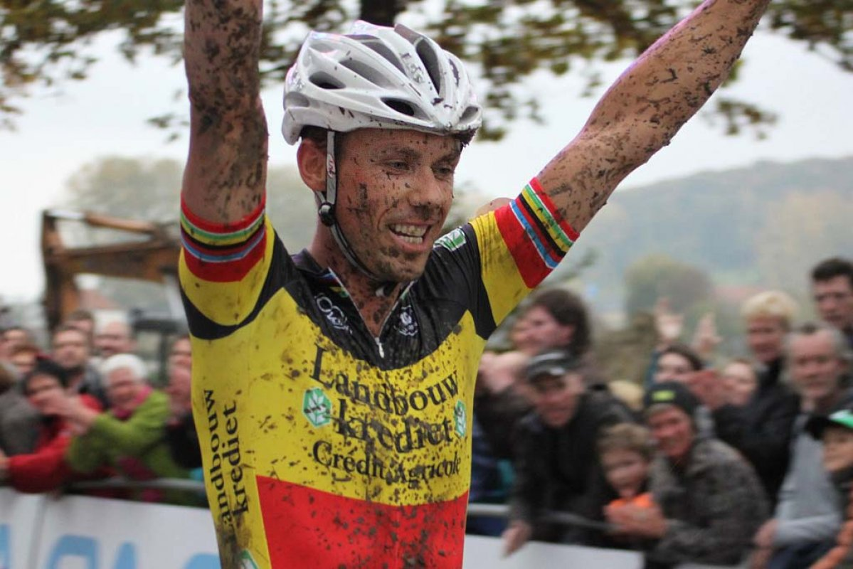 Nys takes another win on the Koppenberg. © Bart Hazen