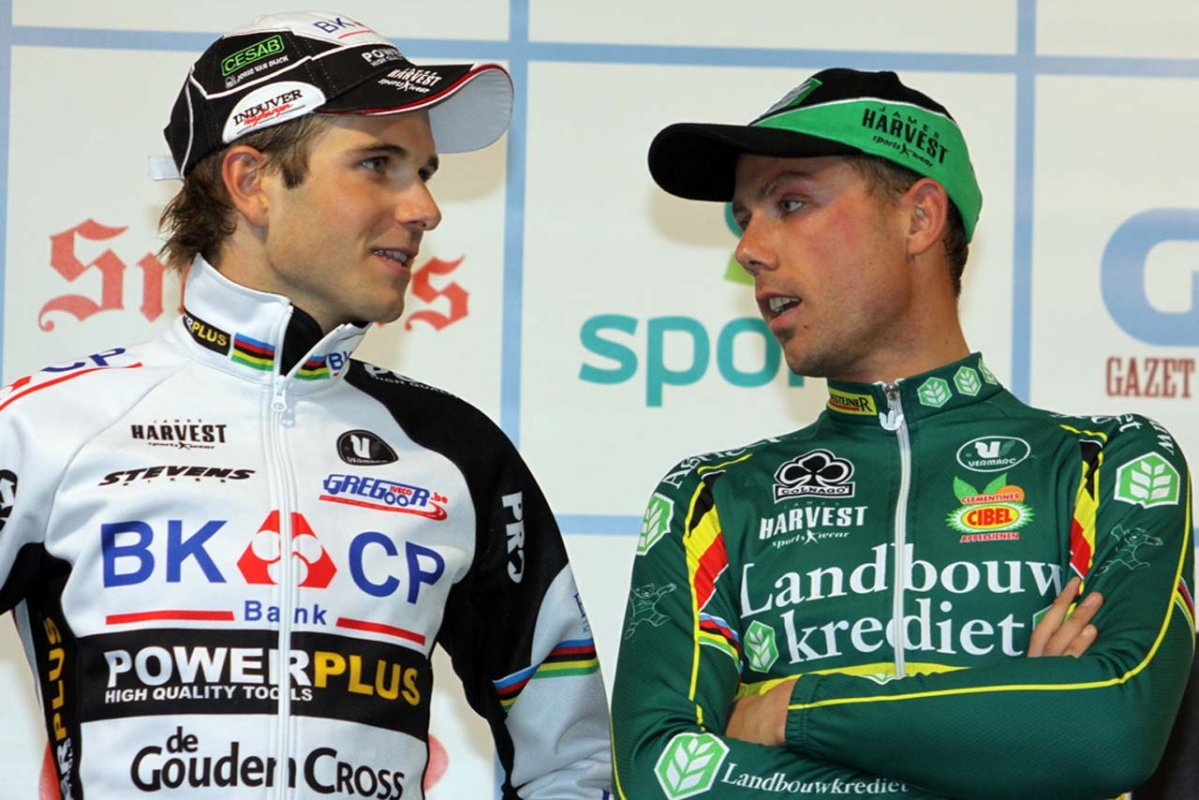 Niels Albert and Sven Nys © Bart Hazen