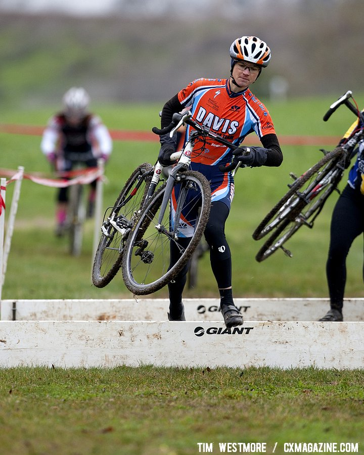 Ellen Sherrill (Davis Bike Club Race Team) continues to take strides forward in her first season of cyclocross racing.