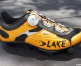 Lake Cycling's MX331 cyclocross shoe, in Dutch Orange, coming this 2013 season. © Cyclocross Magazine